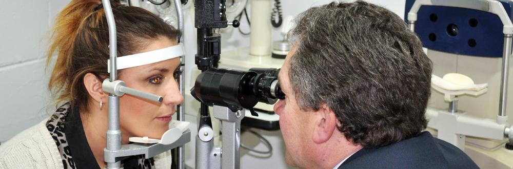 Slit Lamp Examination at Anthony Smith Optometrist